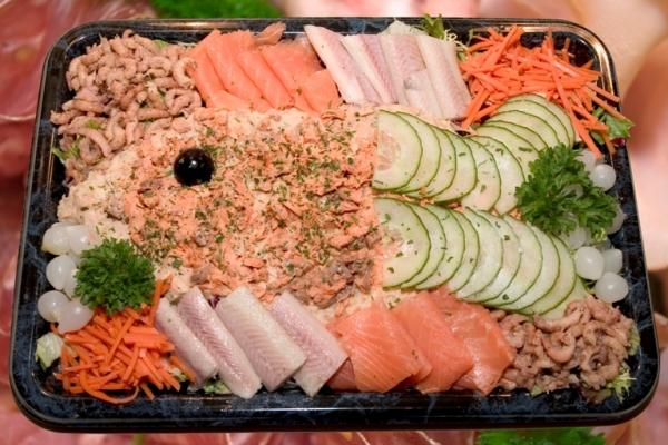 salade schotel vis